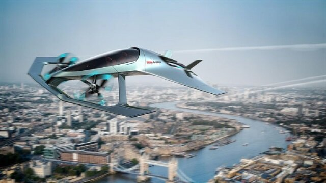 Aston Martin'den yeni uçan otomobil