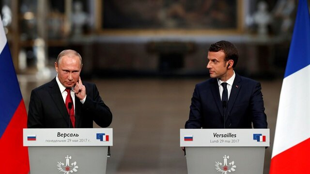 Kremlin says Russian, French leaders discuss humanitarian aid to Syria