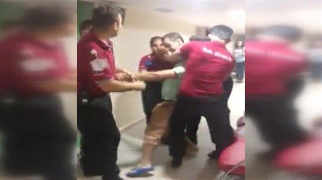 6 kişinin tuttuğu adam: O doktoru öldüreceğim!