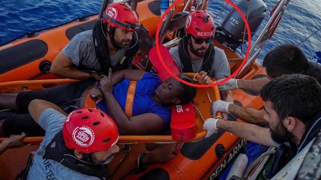 Dünya batan gemideki mültecileri kurtaran NBA yıldızını konuşuyor