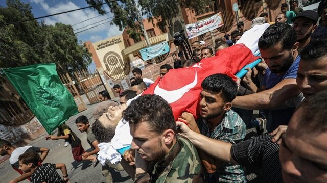 Gaza mourns 4 Palestinians martyred by Israeli forces