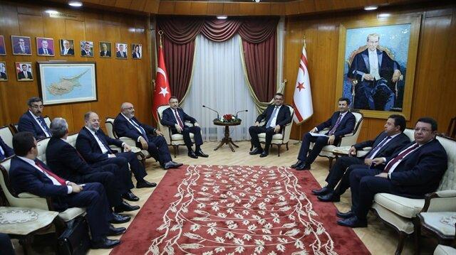نائب أردوغان: سنواصل دعم القبارصة الأتراك