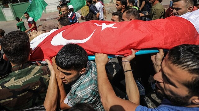 'Şehit olursam üstüme Türk bayrağı örtün'
