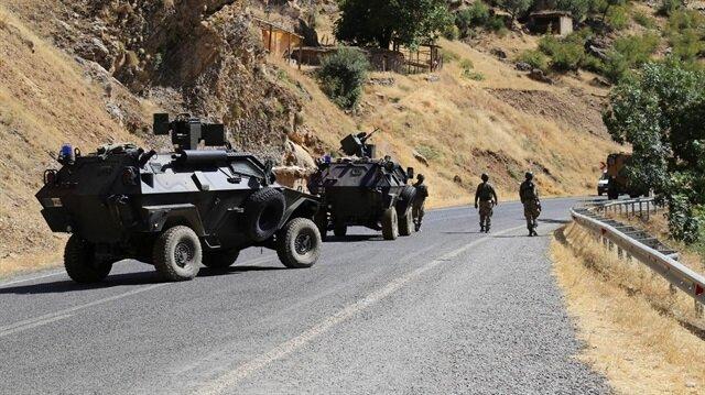 Hakkari'de 'güvenli bölge' ilan edildi