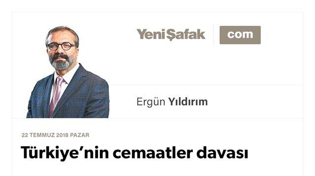 Türkiye'nin cemaatler davası
