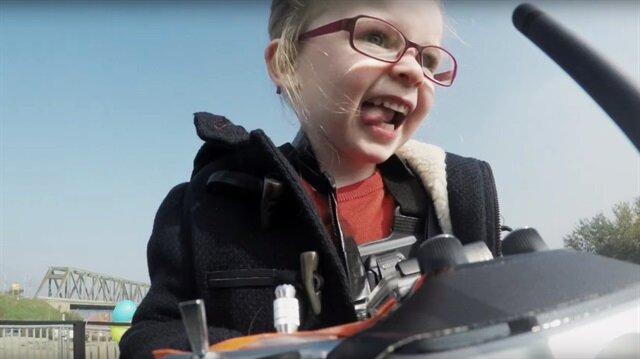 4 yaşındaki Sophie'nin Volvo kamyon testi şaşkına çevirdi