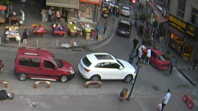 Samsun'daki park kavgası ve cinayet anı kamerada!