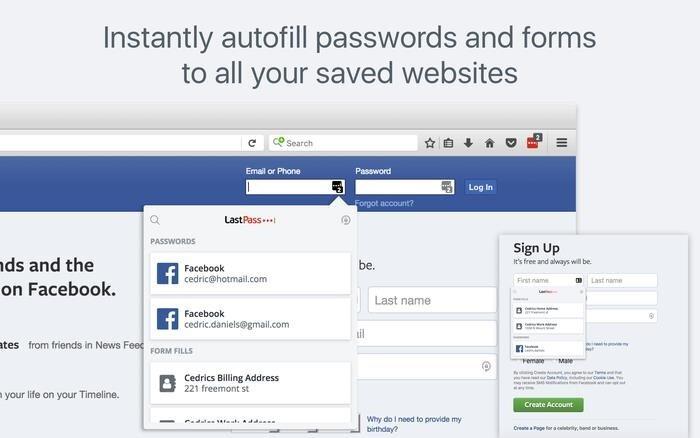 LassPass şifre yöneticisi de şifreleri güvenle saklamak ve her seferinde web sayfalarına şifre yazmak istemeyenlerin kurtuluşu oluyor.