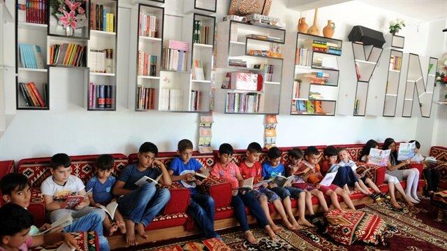 İstenmeyen köy kütüphanesinde 7 bin kitap okundu