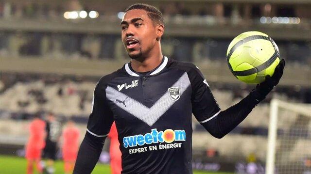 Malcom, 3 sezondur Bordeaux forması giyiyor.