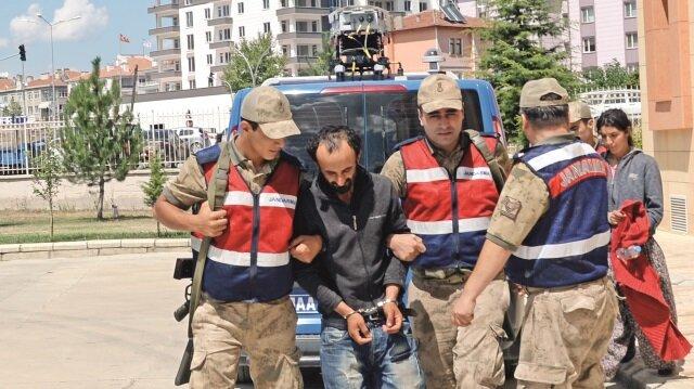 Tutuklanan Burhan-Dilek Atış çifti bir numaralı şüpheli.