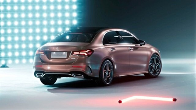 Mercedes-Benz A Class Sedan'ın fotoğrafları yayınlandı