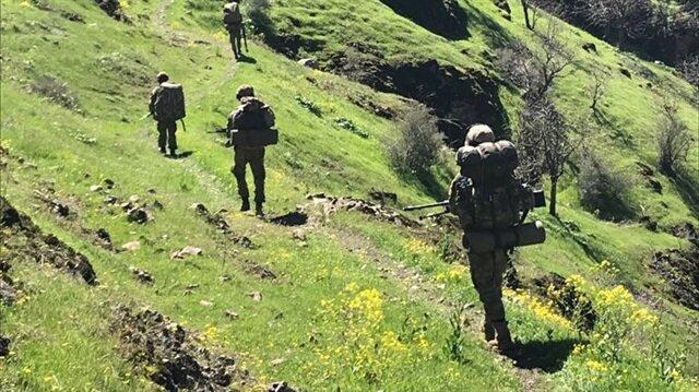 Mehmetçik, terör örgütlerine yönelik operasyonlarını sürdürüyor.