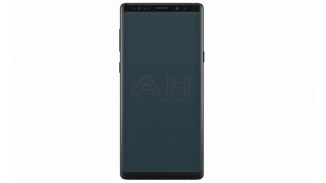Galaxy Note 9'un Galaxy Note 8 ile neredeyse tamamen aynı tasarım hatlarına sahip olması bekleniyor.