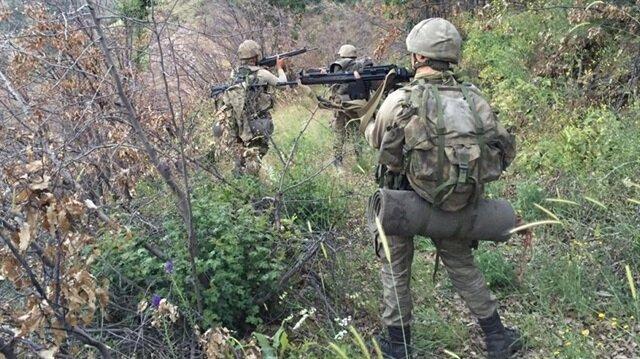 Emniyet güçlerinin operasyonunda PKK'nın bölgedeki kasası da etkisiz hale getirildi.