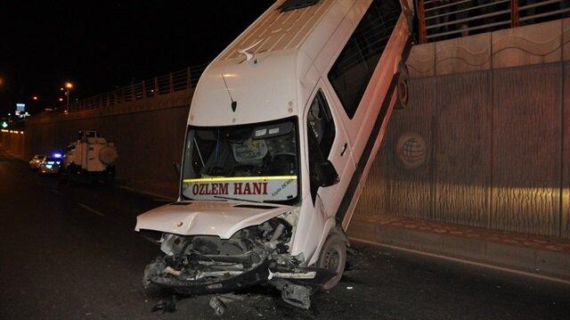 Diyarbakır'da unutkanlık kazaya neden oldu
