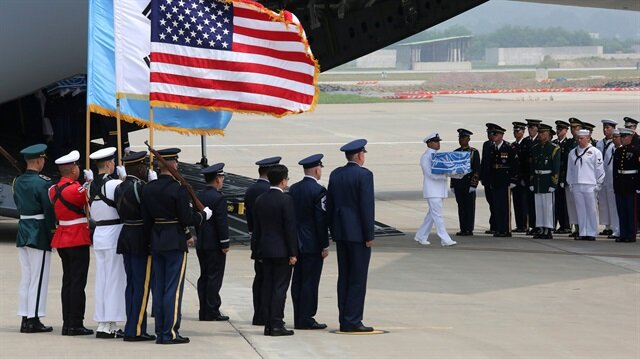 Kuzey Kore Amerikan askerlerin kalıntılarını iade etti