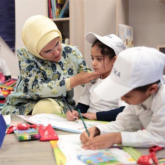 أمينة أردوغان تفتتح مكتبا لوقف المعارف التركي بجنوب إفريقيا