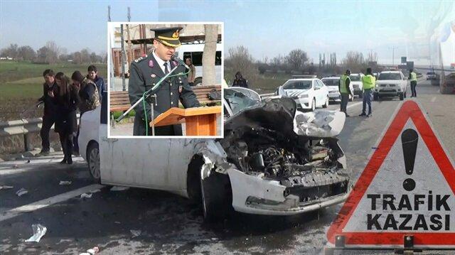 Karaman İl Jandarma Komutan Yardımcısı Jandarma Yarbay Alper Durmaz geçirdiği kazada hayatını kaybetti. Arşiv