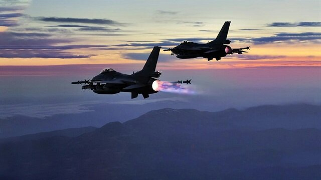 TSK'nın hava destekli operasyonunda 10 terörist öldürüldü.