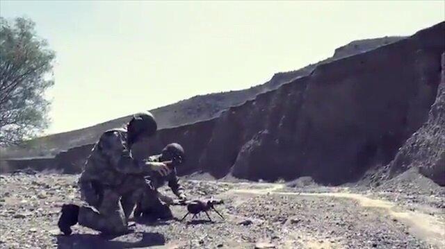 Milli silah Kargu ilk görevini Afrin'de yaptı