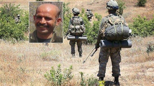 Diyarbakır'daki operasyonda gri listedeki PKK'lı terörist öldürüldü.