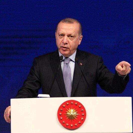 Cumhurbaşkanı Erdoğan'dan 'elektronik para' açıklaması
