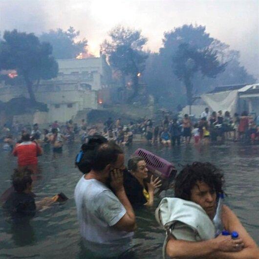 Yunanistan'daki facianın denizde yaşanan dehşet anları