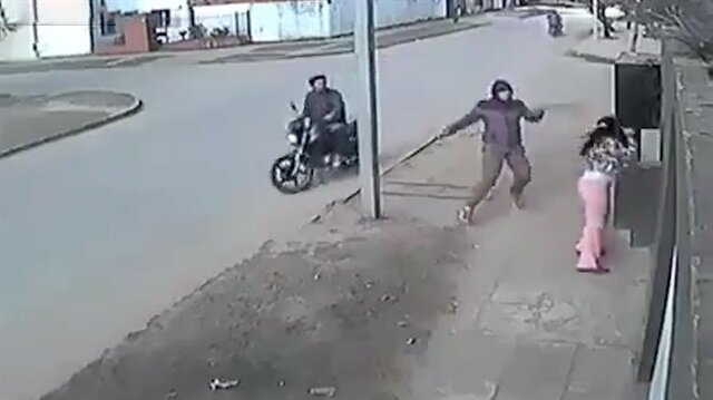 Kapkaç mağduru kadının pratik zekası