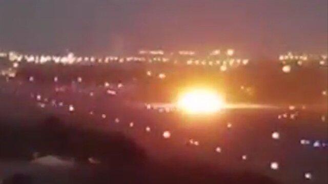 Özel uçak inişi sırasında yere çakıldı