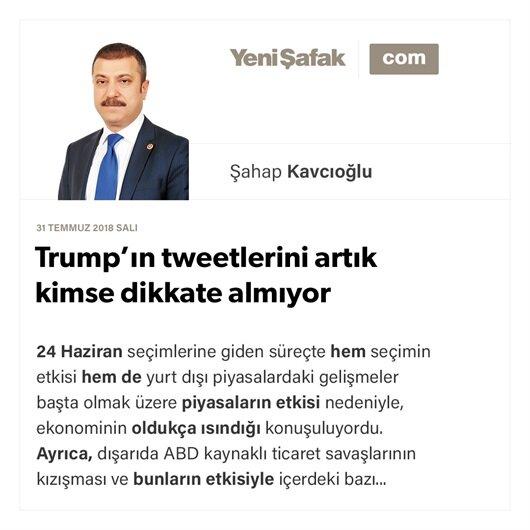 Trump'ın tweetlerini artık kimse dikkate almıyor