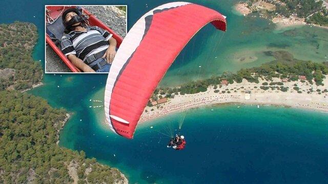 75 yaşında yamaç paraşütü kazası geçiren adam olayın ardından 'İlk fırsatta yine uçacağım' dedi.
