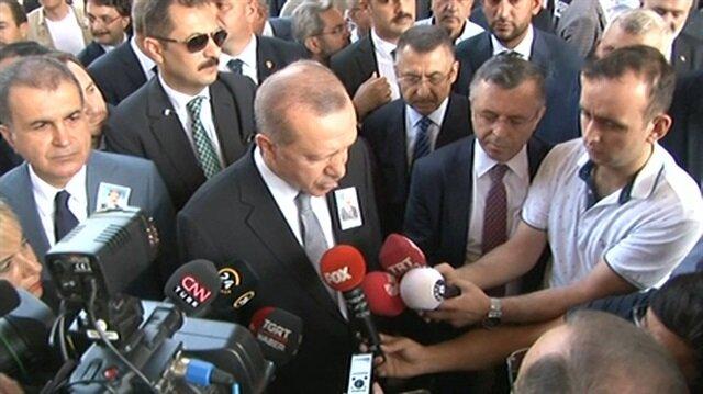 Erdoğan: Tehdit diline prim vermeyiz