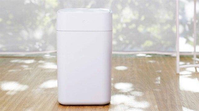 Xiaomi akıllı çöp kutusu.