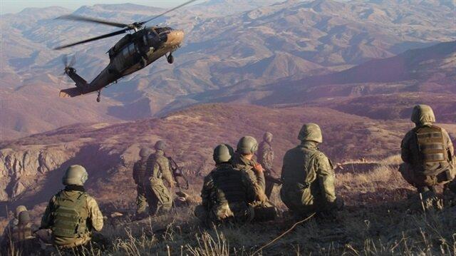 Mehmetçik terör örgütlerine karşı operasyonlarını sürdürüyor.