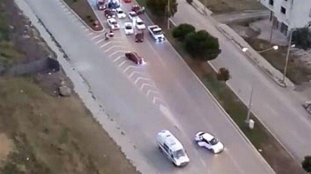 Samsun'da yolu trafiğe kapatarak drift yapan 3 kişi gözaltına alındı
