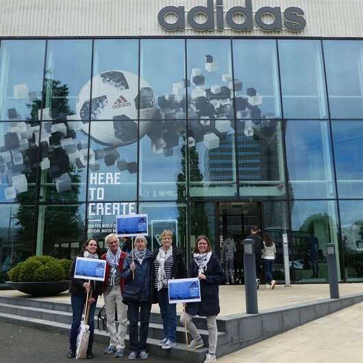 Adidas İsrail'den çekildi