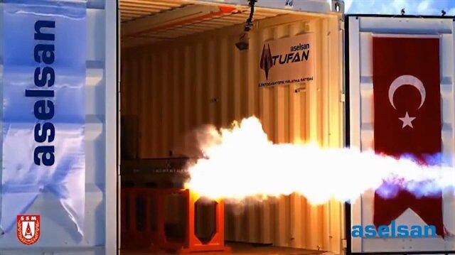ASELSAN yeni silahıyla hız rekoru kırdı