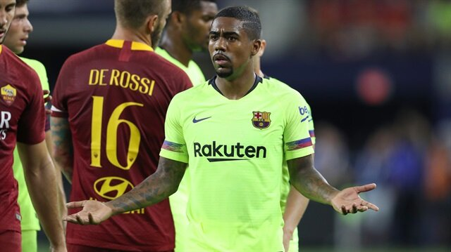 Malcom, Roma karşısında bir gol kaydetti.
