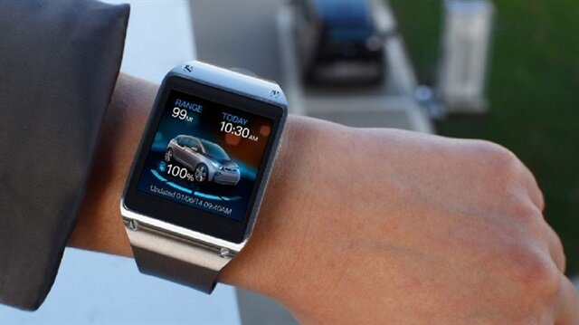 BMW'nin akıllı saati bir ilke imza atacak