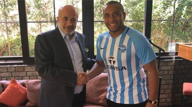 Anderson, Adana Demirspor'la iki yıllık sözleşme imzaladı.