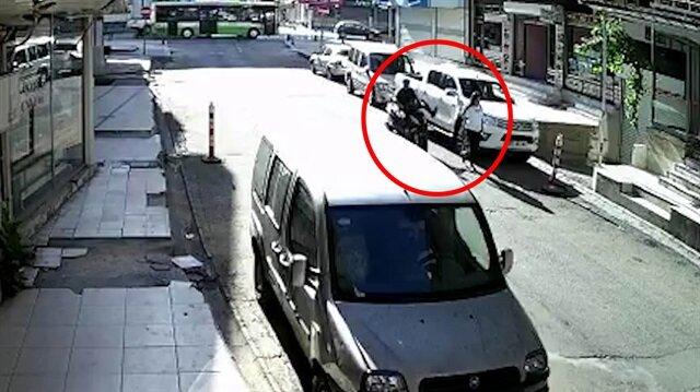 Motosikletli sadistten genç kıza ölümüne tekme!