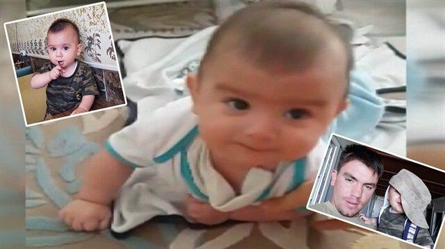 Şehit bebeğin görüntüleri yürekleri parçaladı