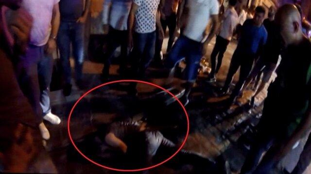 Uyuşturucu komasındaki genç kendini yerden yere vurdu