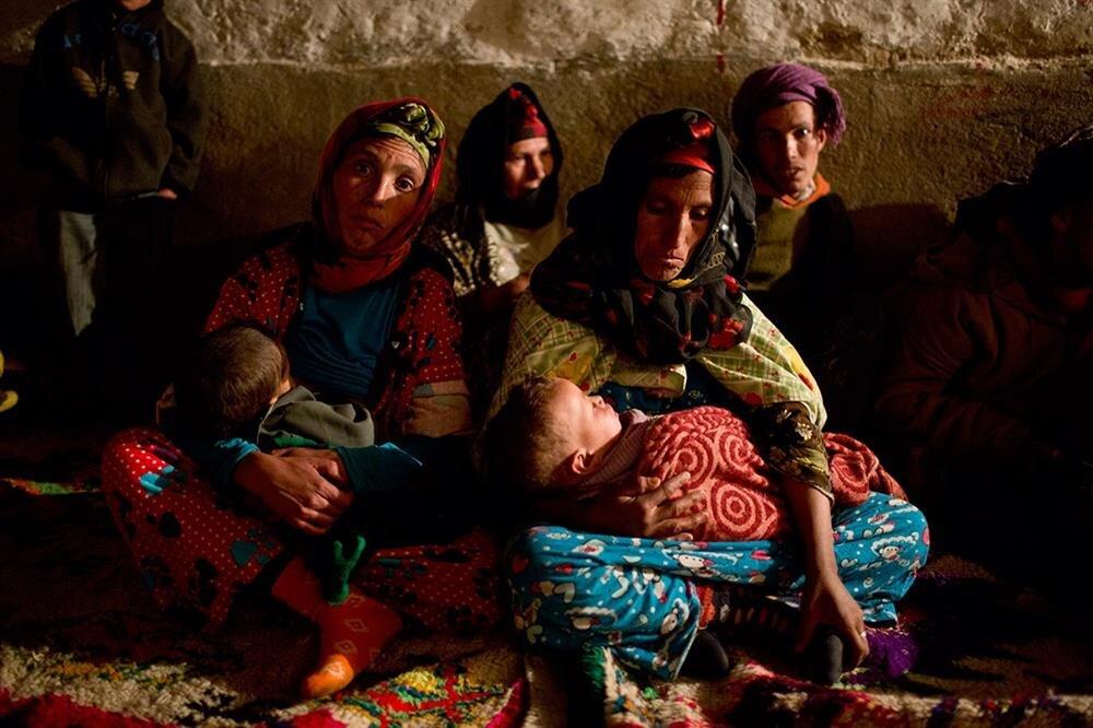 Berberiler, çoğunlukla dağlık ve kırsal alanlarda yaşıyor.