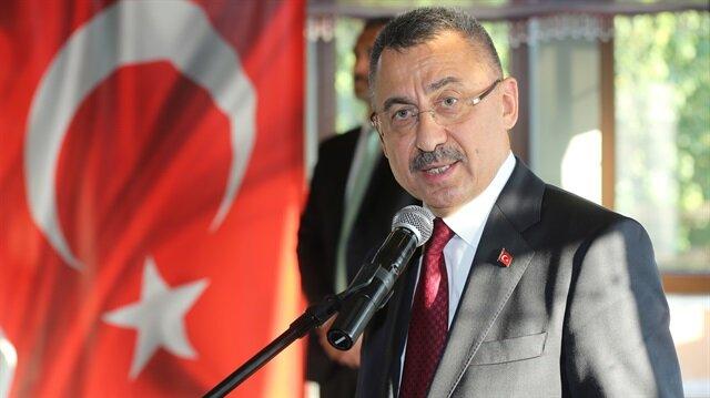 Turkish Deputy President Fuat Oktay