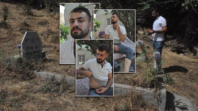 Batman'da yaşayan Ergün Tiryaki, 25 yıl önce henüz 7 aylıkken PKK'nın sadırısına uğramıştı.