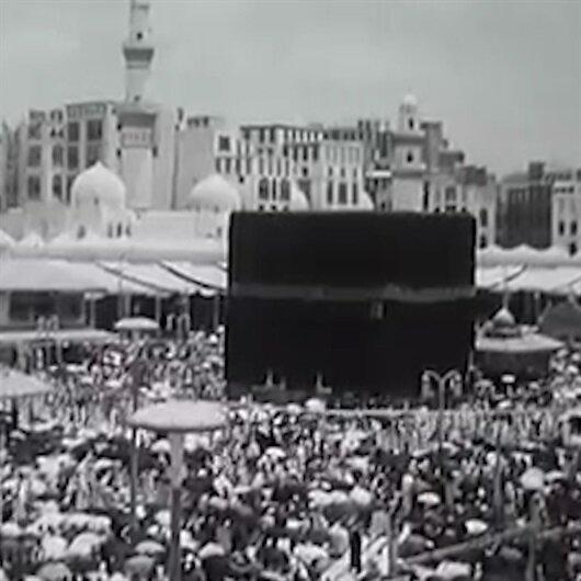 Mekkenin 1950 yılında çekilen görüntüleri ortaya çıktı