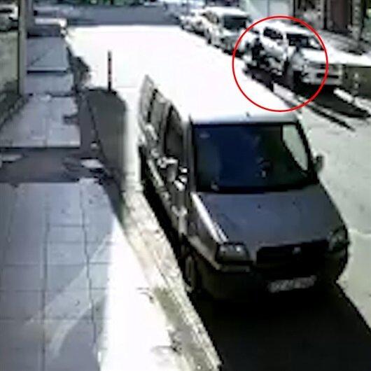 Öğretmene tekme atan motosikletli yakalandı
