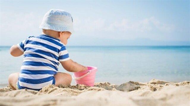 Çocukları güneşten korumanın 7 yolu